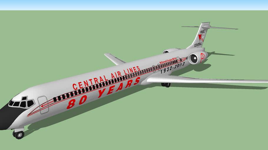 Central Air Lines Retrojet (2012 [F]) - McDonnell Douglas MD-90-30