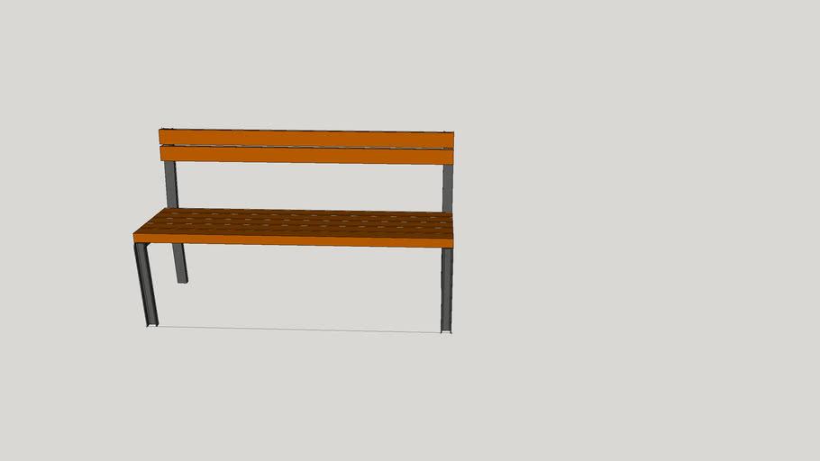 Sitzbank U-Profil 50x25x5mm