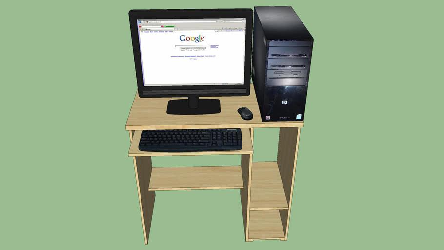 Computador de mesa (con mesa)