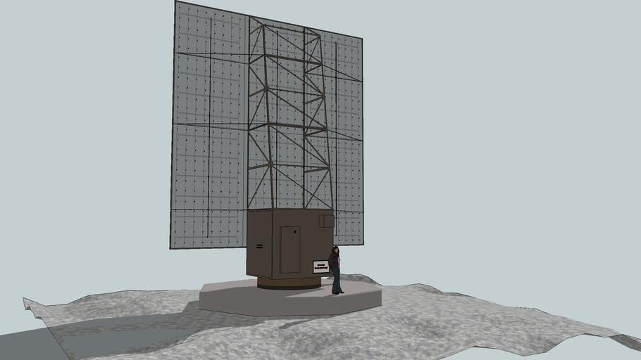 FuMO51 Mammut - Gustav, German WWII Long Range Early Warning Radar