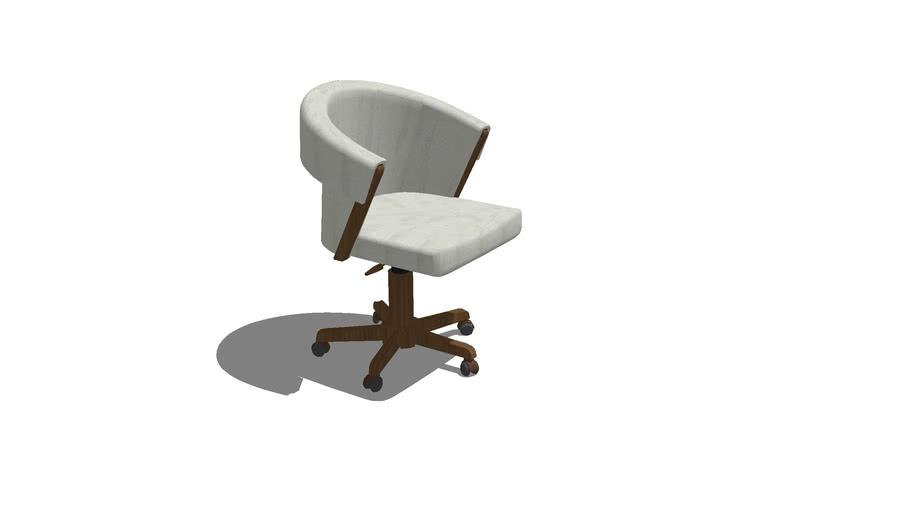 Cadeira Blanca giratória - Rejane Carvalho Leite