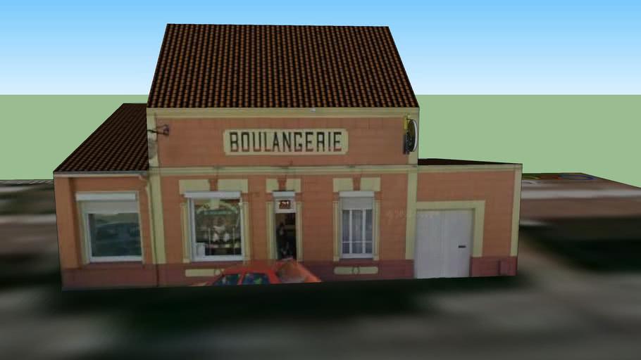 Boulangerie - Aux 3 chocolats - Marck, FRANCE