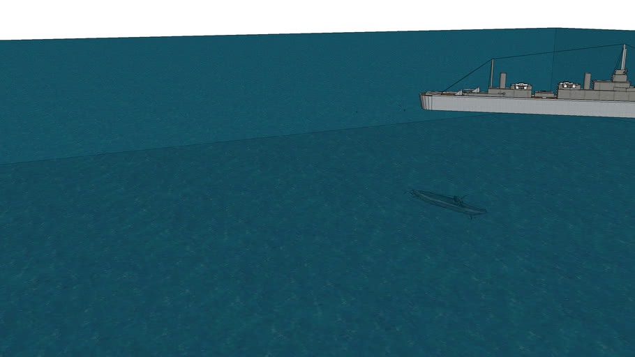 the orca kills a u boat