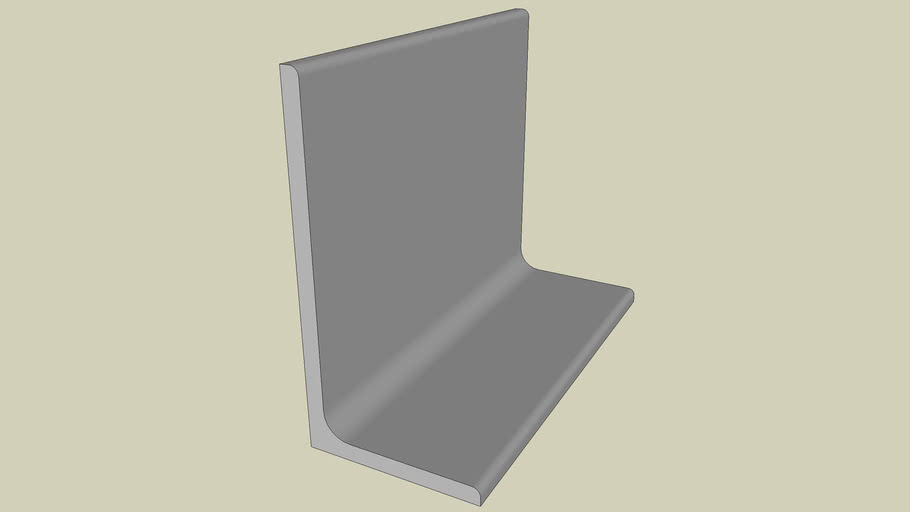STEEL SECTION - UNEQUAL ANGLE 200 X 100 - PART 128 OF 180