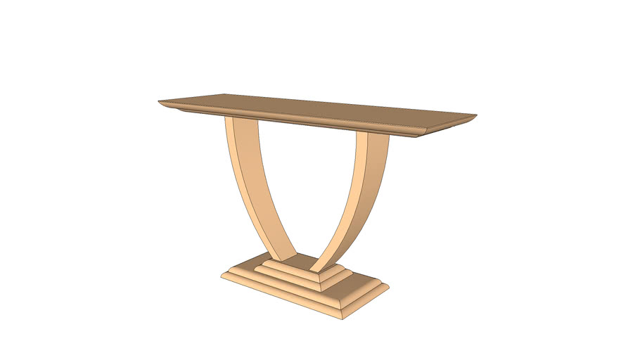 Art Deco Style Console Table Warehouse