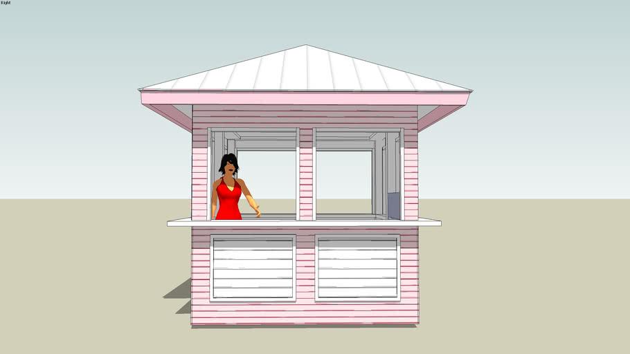 SLS Hotel Beach Hut Design