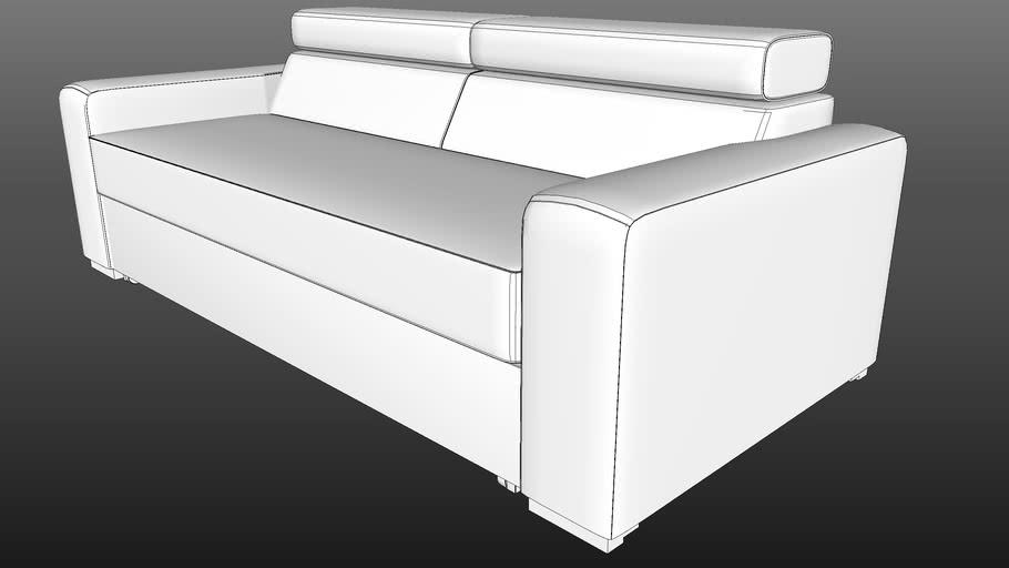 IWC|HOME - OCTAWA sofa lo-poly