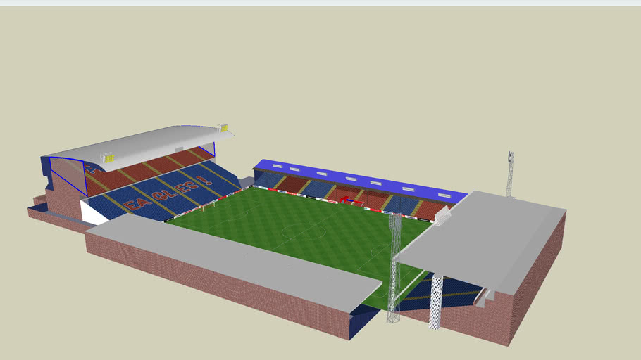 Selhurst Park - Home to Crystal Palace Football Club