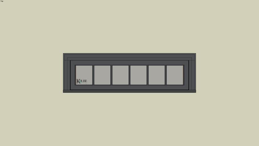 """Kolbe Ultra Casement KUN314P (F.S. 5'-0"""" x 1'-4"""" R.O. 5'-0 1/2"""" x 1'-4 1/2"""")"""