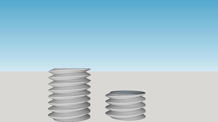 M10 bolt segments