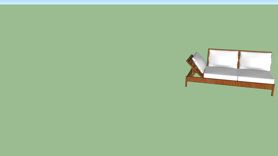 chaise longue - linha glass - butzke