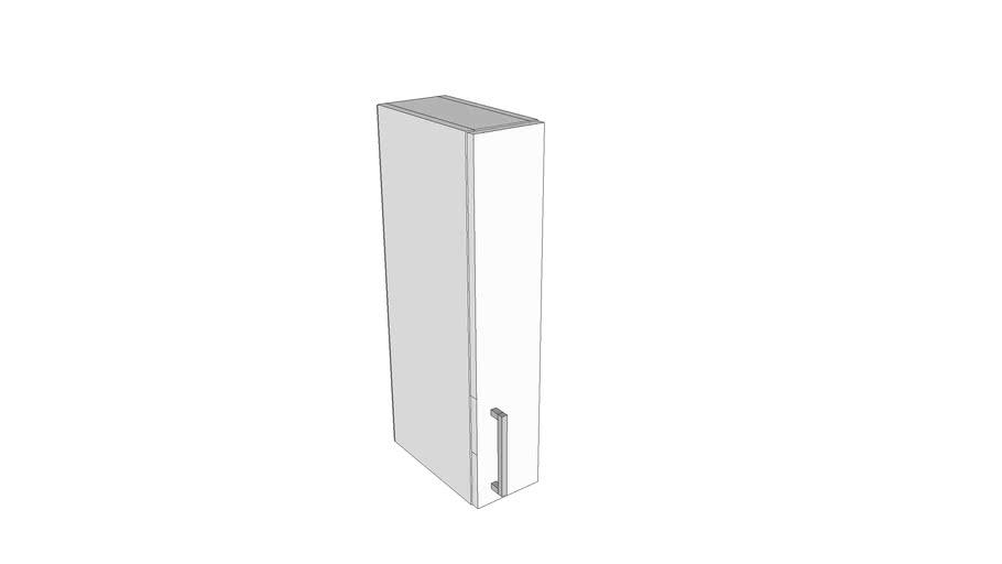 Jednokrilni gornji element - 15 cm