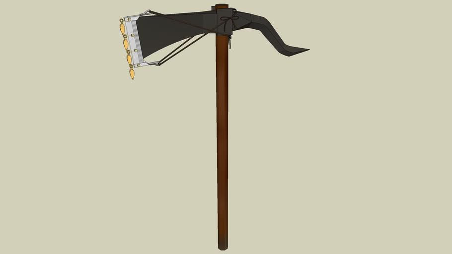 Roman Marching Camp - Dolabra (Pick Ax)