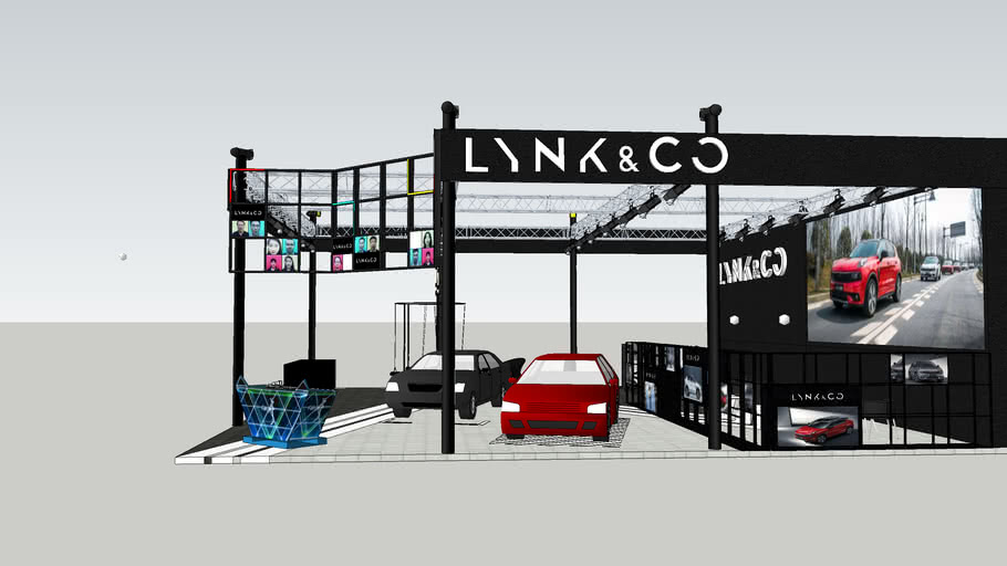 LYNK&CO Auto show project
