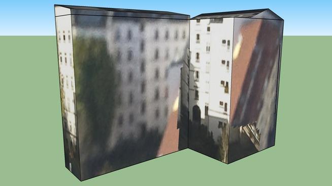Building in Winterfeldstrasse Berlin, Germany