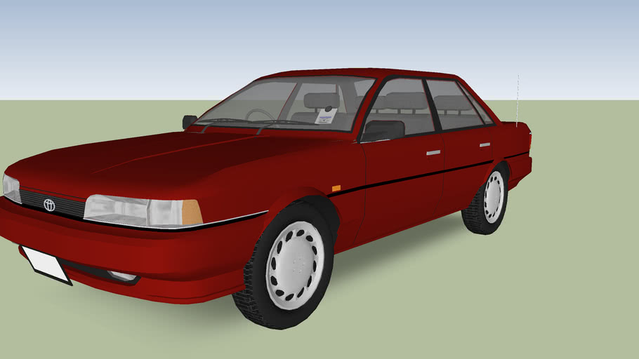 1991 Toyota Camry 3d Warehouse