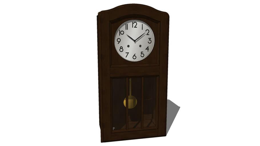1940s Wall Clock 3d Warehouse