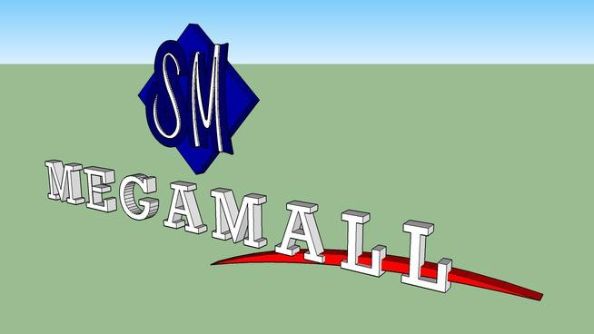 SM Megamall Logo
