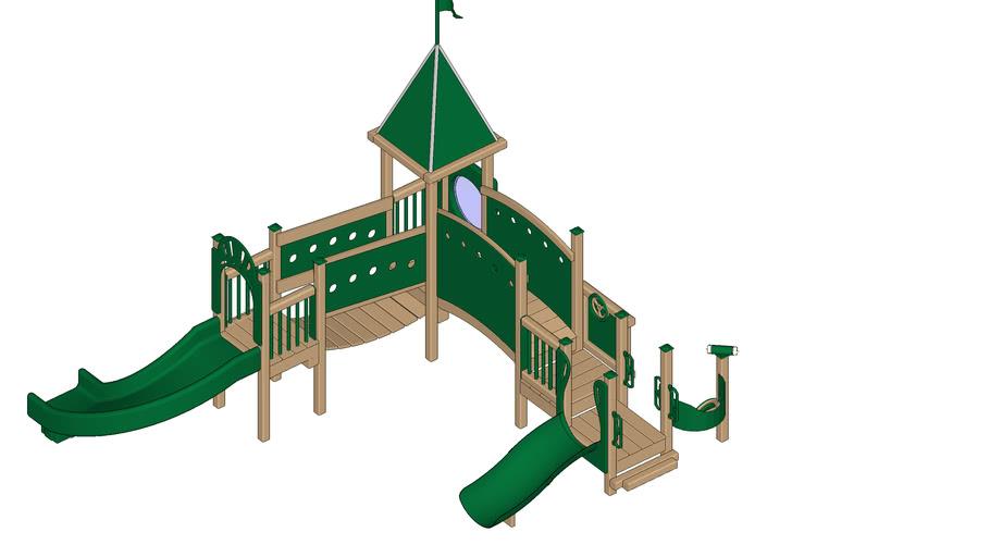 SUNNYSIDE Playground Equipment by Play Mart - Mini