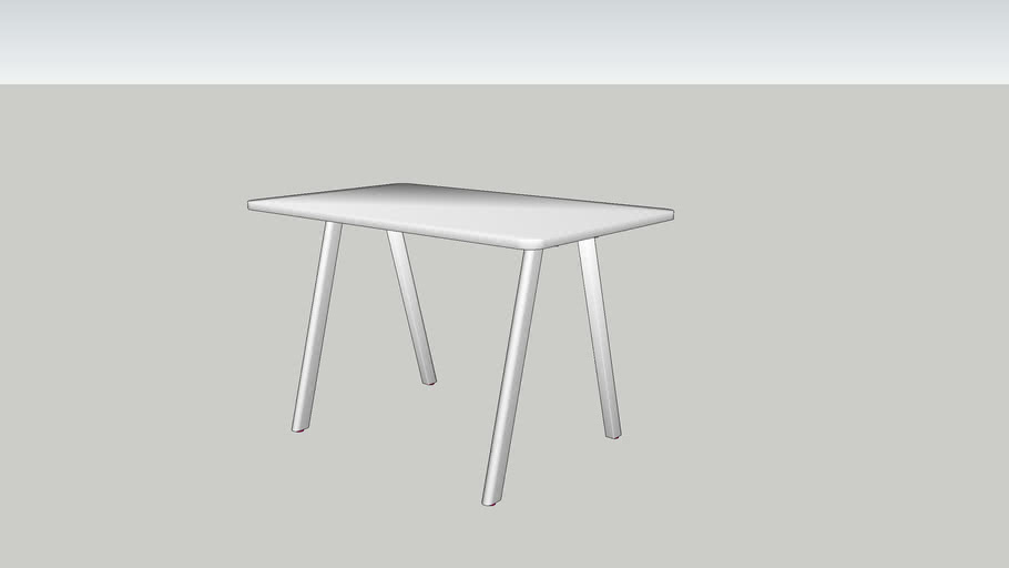 DE VORM - Big Lite Modular Table System 150x90x95