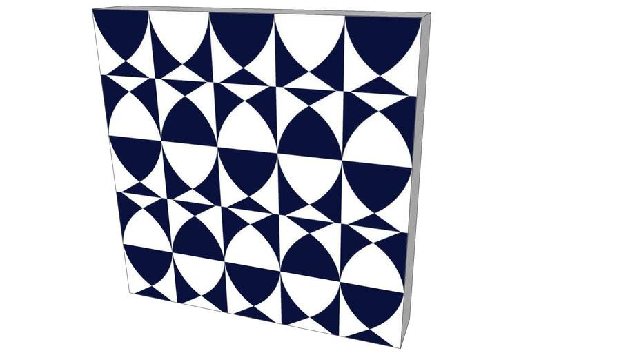 Quadro Alexandre Mancini - Coleção Navy Blue 02