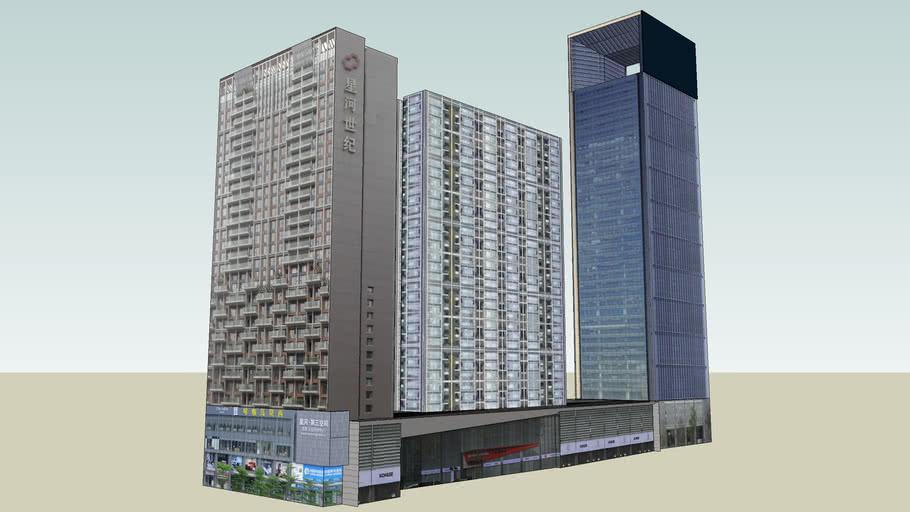 深圳星河世纪大厦 Shenzhen Galaxy Century Building(China)