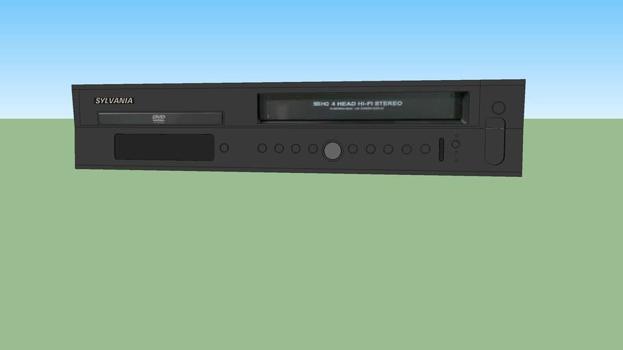 Sylvania combination DVD/VHS-VCR(DVC800)