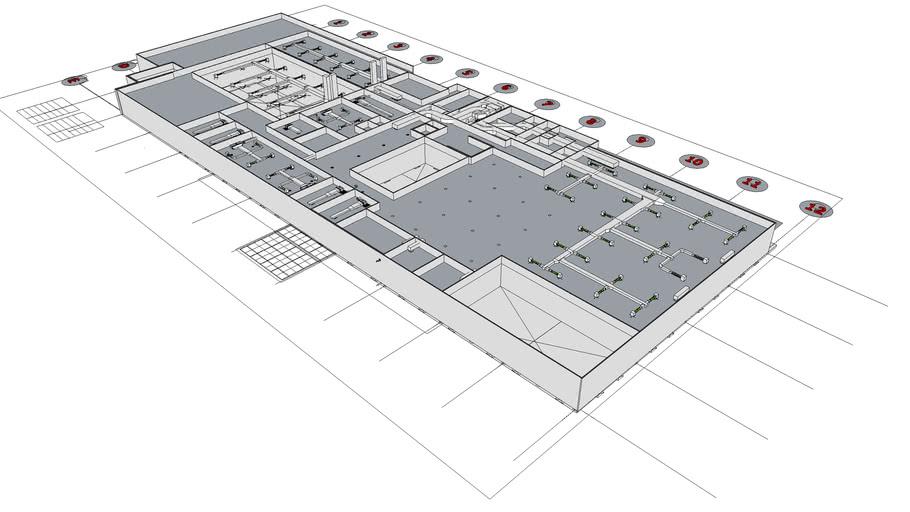 Duct Work At MRTA-GREEN (D01-2nd ) -Ref.DWG No.BMLE-D01-BSM-201-A Design Date 14-9-58.skp (5.4 MB SketchUp 8 Model)
