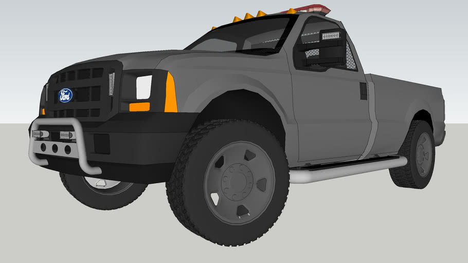 UnMarked police unit - Ford F-350