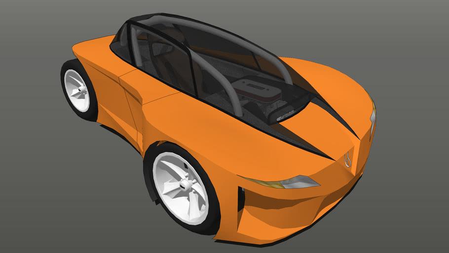V-twin SuperCar concept