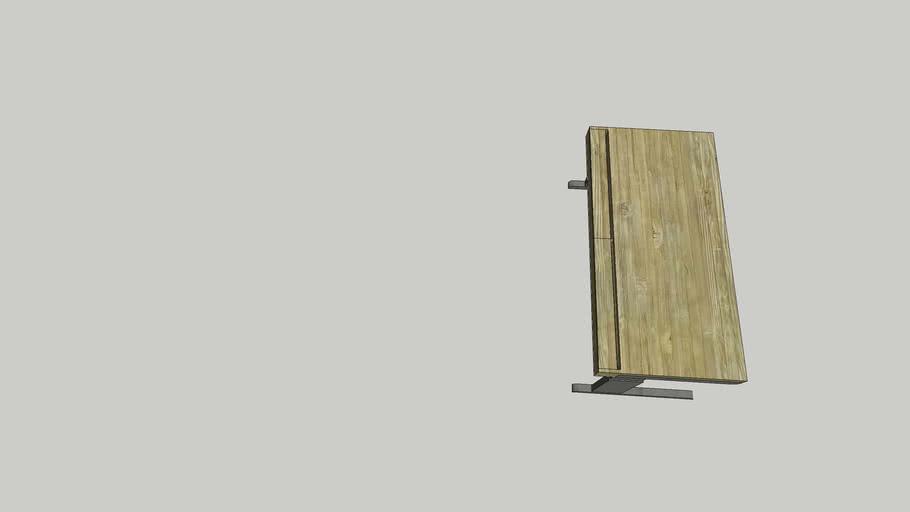 aanpasbaar bureau/ajustable desk - lokaal 101 (H740mm)