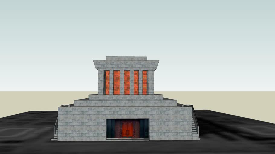 Lăng Chủ Tịch Hồ Chí Minh ( Ho Chi Minh mausoleum )