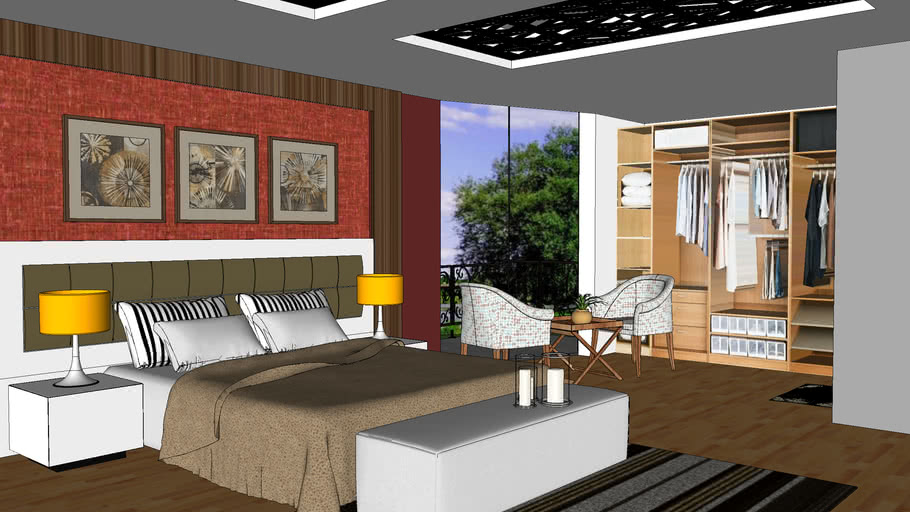 Bedroom 3d Warehouse