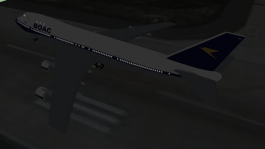 BOAC flight 600 1971