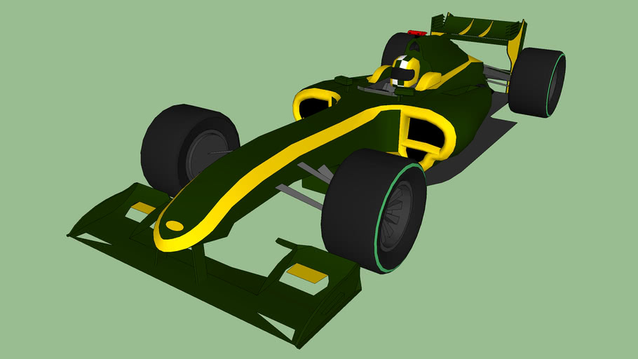 F1 Car (Aero Upgrade)