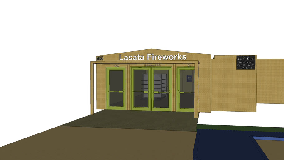 Lasata Fireworks Fully-Furnished