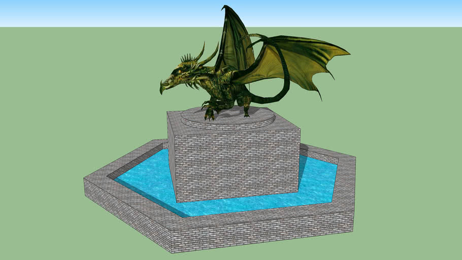 Dragon Fountain Without Susan