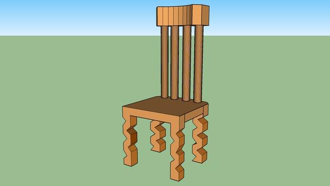 Amber stoel.