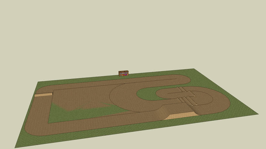 updated super rc cousre/ race track