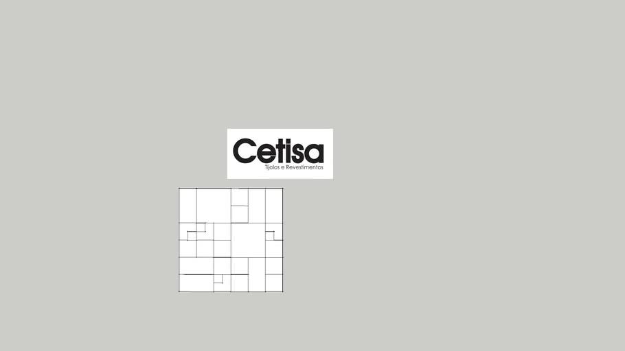 Revestimento 3d cimenticio cetisa mosaic