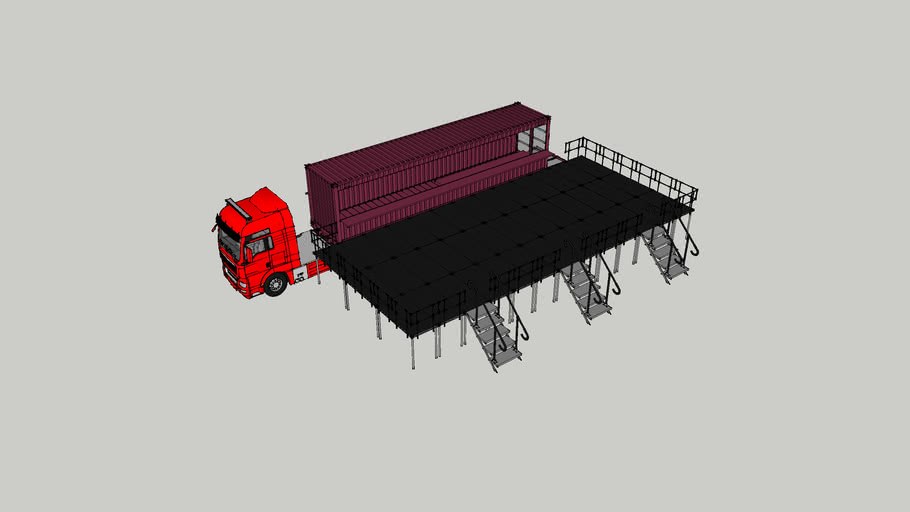 truck bar deck