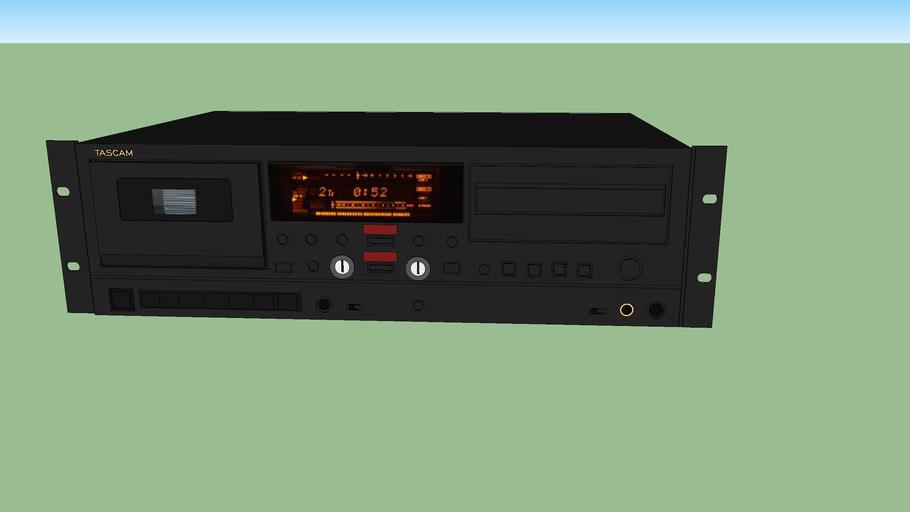Tascam CC-222 MK4 rackmount CD/cassette player