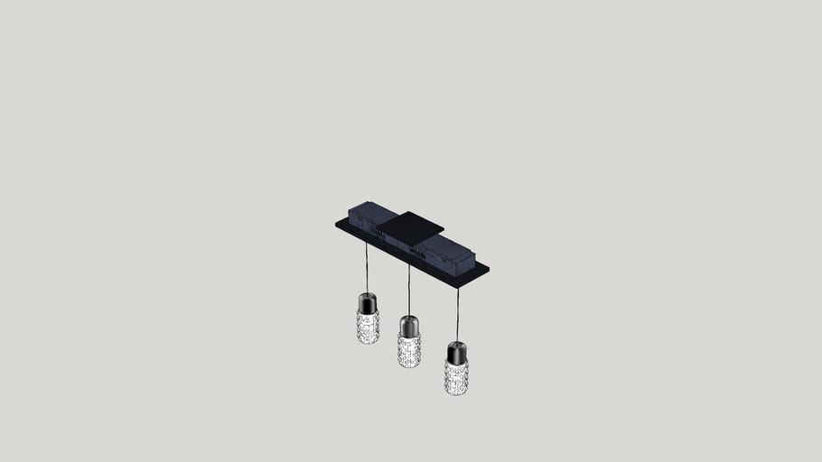 Lucea 3 Light LED Pendant