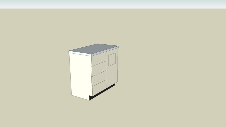 Exam Room Base Cabinet