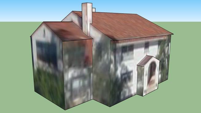 House on Ft. Sam Houston, San Antonio, TX, USA