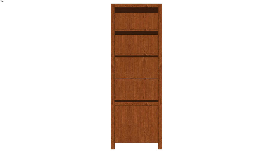 Wall Bookcase 60H