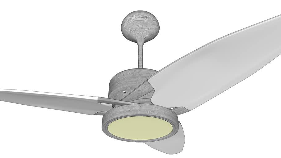 PROPELLER SILVER - Designer Fan by Fanzart VRAY Ready Fan