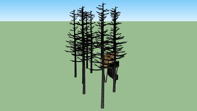 Design It Shelter Sherwood Forest Edge Treehouse