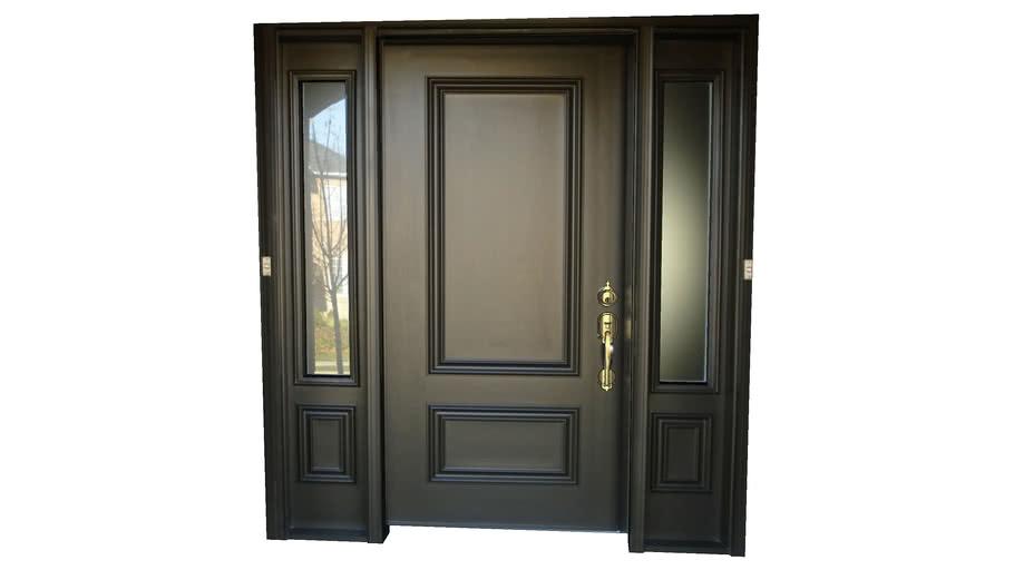 Door (front) with frame