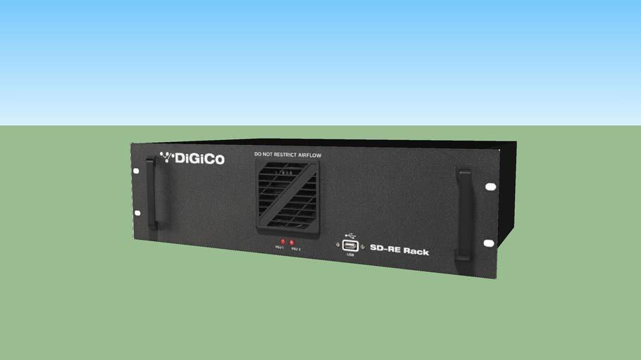 DiGiCo - SD-RE Rack